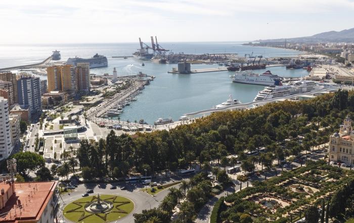 Cruceros-Puerto-Málaga