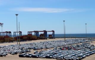Tráfico de vehículos en Muelle 9 web