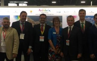 Delegación de Málaga en Seatrade Cruise Global