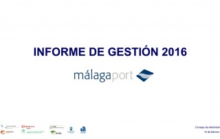 Portada INforme Gestión Málagaport 2016