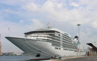 Seabourn Ovation en Málaga 1