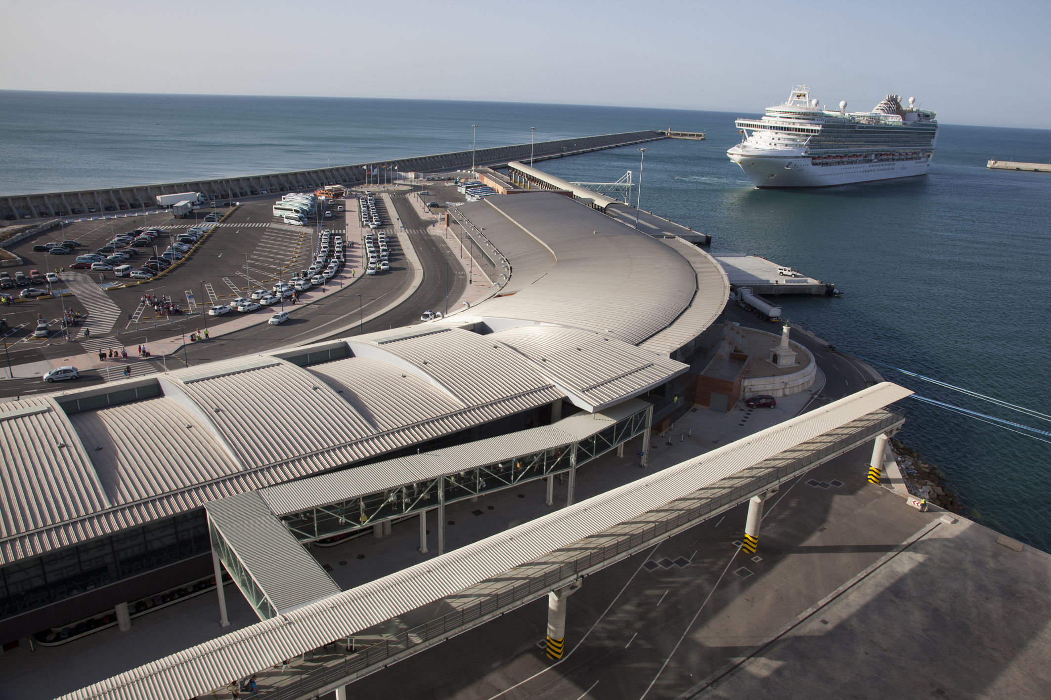 Port of Málaga ready to resume cruise traffic, following regional approval protocol